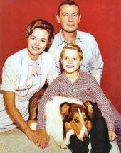 Lassie Show cast photo