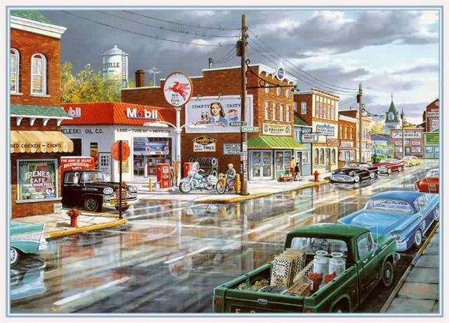 50s town