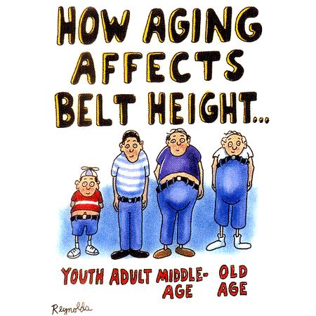 cartoon on aging