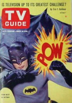 Batman magazine cover