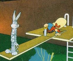 Bugs Bunny cartoon