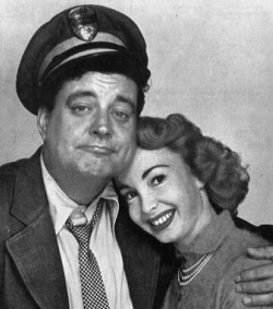 Jackie Gleason and Audrey Meadows photo