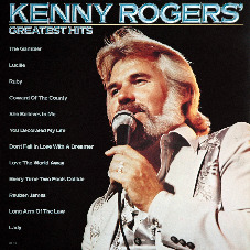Kenny Rogers greatest hits album