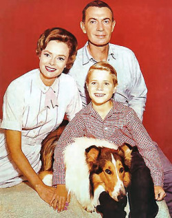 Lassie Show cast photo