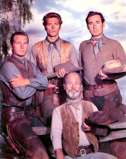 Rawhide cast photo