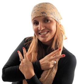 female hippie