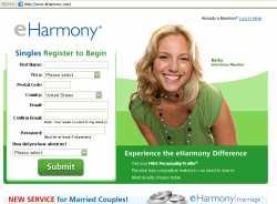 eharmony page