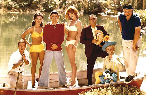 Gilligans Island Show cast photo